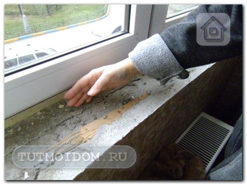Как утеплить подоконник пластикового окна своими руками 35